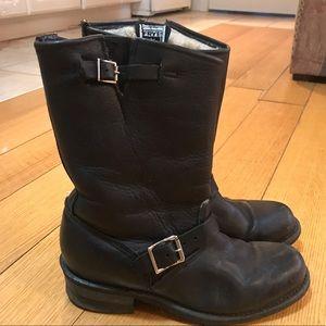 Frye Mechanic Boots